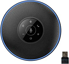 Bluetooth Speakerphone – eMeet Conference Speaker for 5-8 People Business..