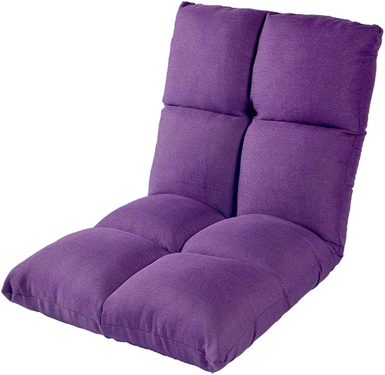 MDBLYJBay Window Chair, Lazy Couch, Folding Cushion Sofa Chair Bay Window Chair @ (color   D)