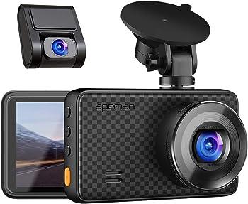 Apeman 1440P&1080P Front & Rear Dual Dash Cam