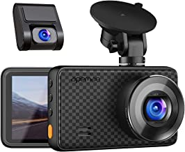 APEMAN 1440P&1080P Dual Dash Cam, 1520P max, Front and Rear Camera for Cars with 3..