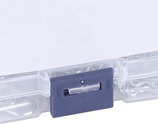 Kit de sortimento de pinos de cotter, clipes de pinos de engate de 100 unidades com caixa de plástico para automóveis para...