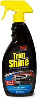 Stoner Car Care 92034 Trim Shine Plastic, Vinyl, Rubber Protectant