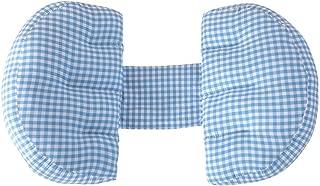Zichen U-Shaped Pillow Travel Pillow Pregnant Women Pillow/mzichen Ulti-fzichen Unctional Waist pad Side Pillow zichen U-Shaped Prop Belly pad adjzichen Ustable Washable (Color : HU) (Color : B)