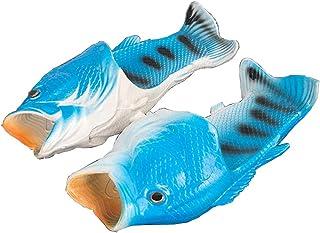 魚の形 スリッパ 男女兼用 軽量 通気性 面白い バスルーム 良好な柔軟性 ユニーク 面白いデザイン ビーチサンダル