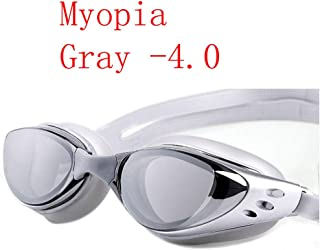 Swimming Glasses 1.0~10 Waterproof Prescription Swim Eyewear Water Silicone Big Diving Goggles Men Women