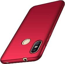 جراب Xiaomi Mi A2 Lite/Redmi 6 Pro، غطاء خلفي خفيف MYLBOO Xiaomi Mi A2 [رفيع جدًا] [مضاد للسقوط] [مضاد للصدمات] جراب بلاستيكي صلب نحيف لهاتف Xiaomi Mi A2 Lite