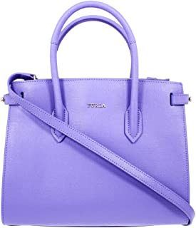 Furla Pin Ladies Small Purple Lavanda Leather Tote 977679
