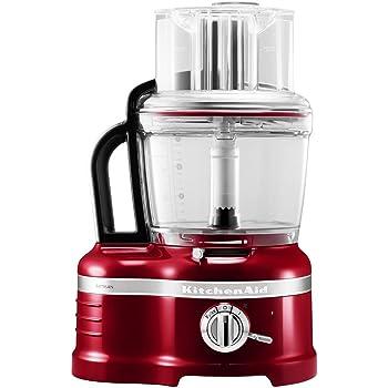 KitchenAid 5KFP1644ECA - Robot de cocina, color rojo: Amazon.es: Hogar