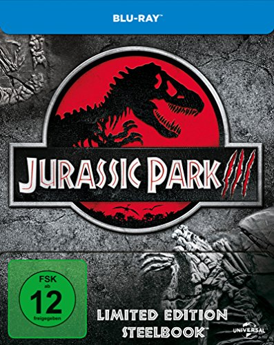 Jurassic Park 3 - Steelbook [Blu-ray] [Limited Edition]