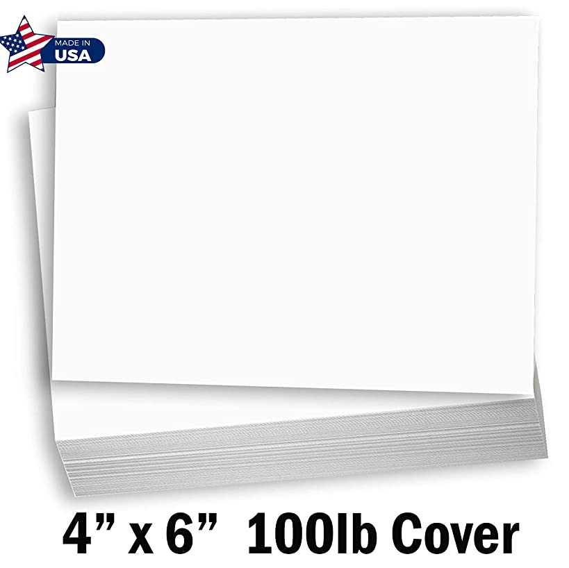 White Card Stock THICK Index cards/ 6