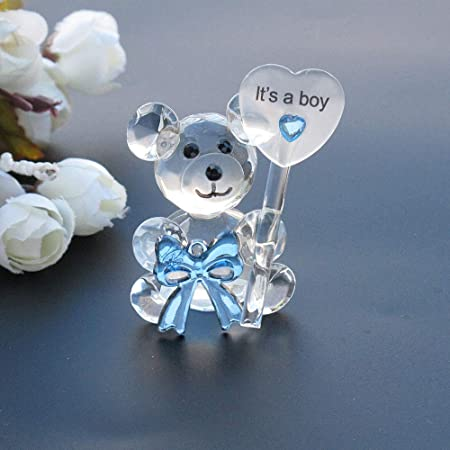 20-72 Choice Crystal Baby Bootie Shoe Baby Shower Party Favors