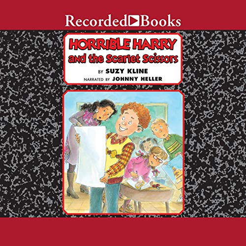 Horrible Harry and the Scarlet Scissors  By  cover art