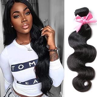 Brazilian Virgin Hair Body Wave 1 bundle Brazilian Body Wave 100% Virgin Human Hair Weaves Hair Extensions (10