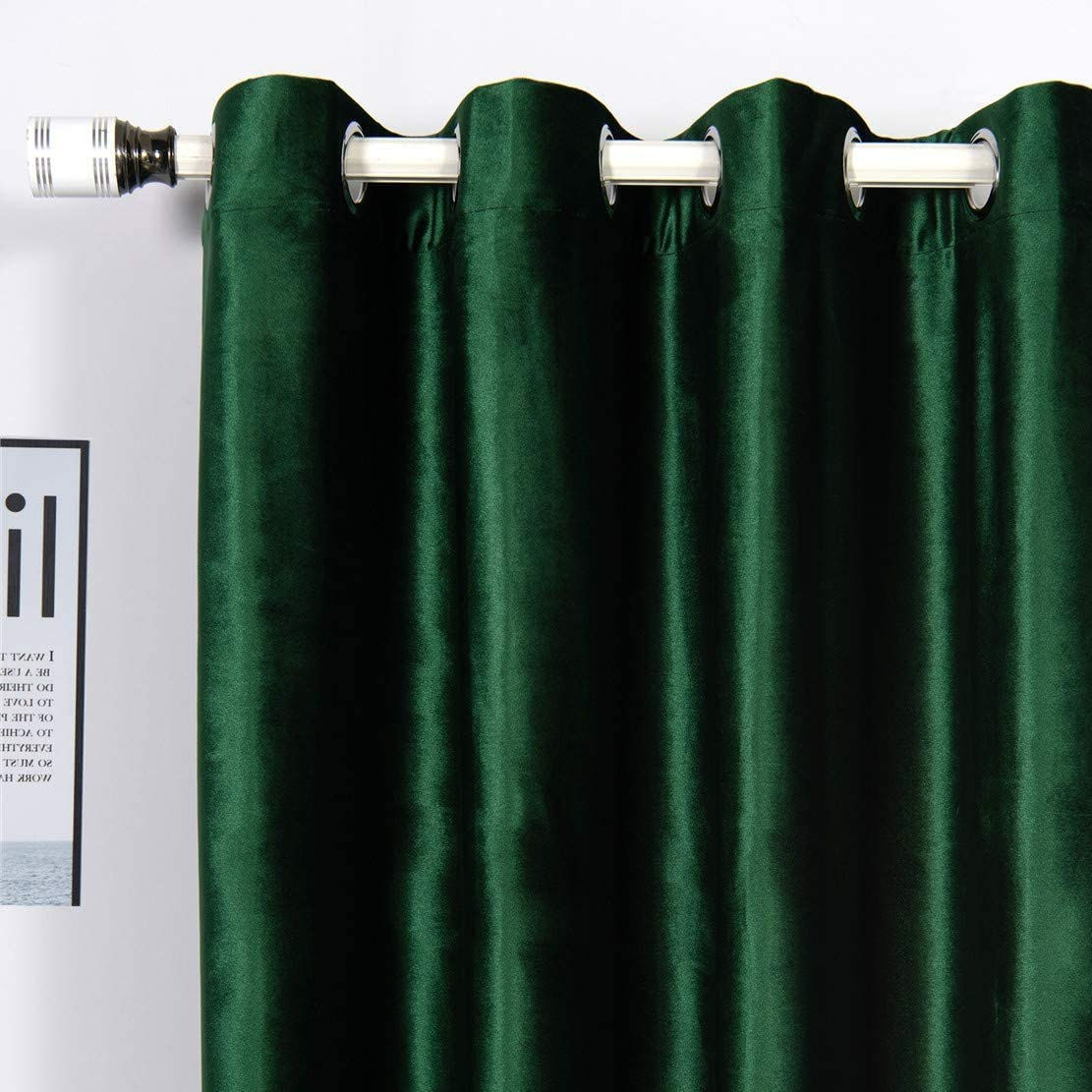 Velvet Ranking TOP19 Curtains 90 inches Super special price Long 2 Bedr Panels for Room Living and