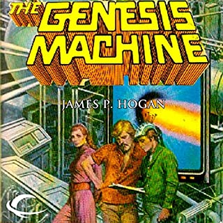 The Genesis Machine audiobook cover art