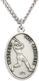 Best st sebastian baseball necklace Reviews