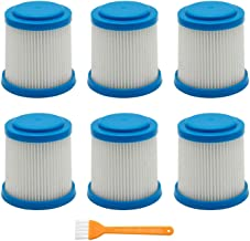 Household Cleaning Tools 7 Packs VPF20 Replacement Filters Smartech Pet Lithium 2-in-1 Cordless Stick Vacuum Cleaner Acces...