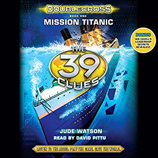 Mission Titanic audiobook cover art