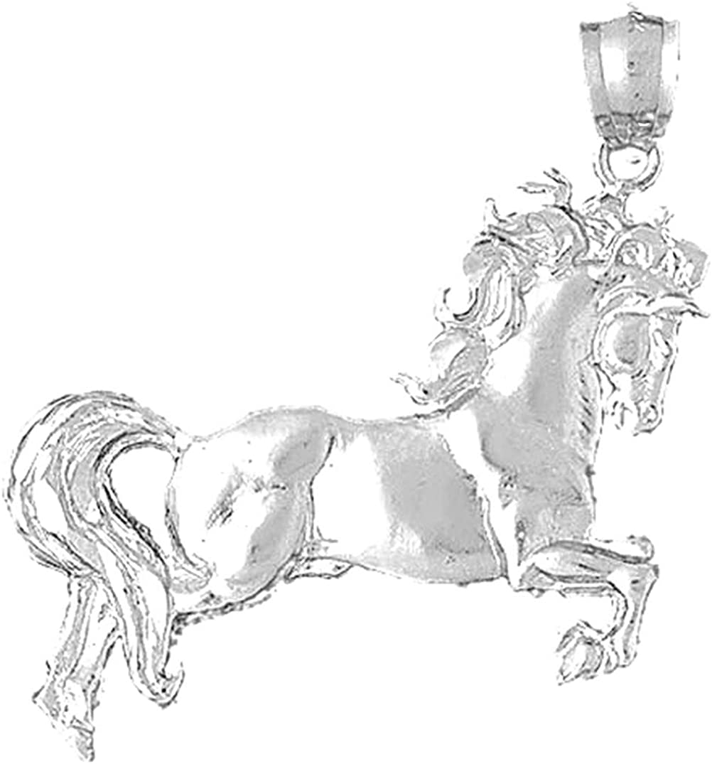 Jewels High quality new Obsession Silver Horse 925 Silv Rhodium ...