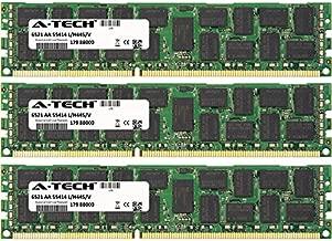 A-Tech 6GB KIT (3 x 2GB) For HP-Compaq ProLiant Series BL460c G7 Server Blade DL160 G6 (625544-B21) SL390s G7 (625536-B21) SL390s G7 (6. DIMM DDR3 ECC Registered PC3-10600 1333MHz Dual Rank RAM Memory