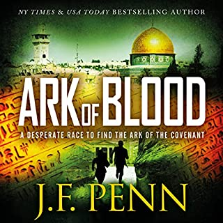 Ark of Blood     An ARKANE Thriller, Book 3              By:                                                                                                                                 J.F. Penn                               Narrated by:                                                                                                                                 Veronica Giguere                      Length: 5 hrs and 56 mins     5 ratings     Overall 3.6