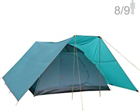 NTK Savannah GT 8 to 9 Person 10 by 12 Foot Outdoor Dome Family Camping Tent 100% Waterproof 2500mm, Easy Assembly, Durable Fabric Full Coverage Versatile Rainfly, Micro Mosquito Mesh.