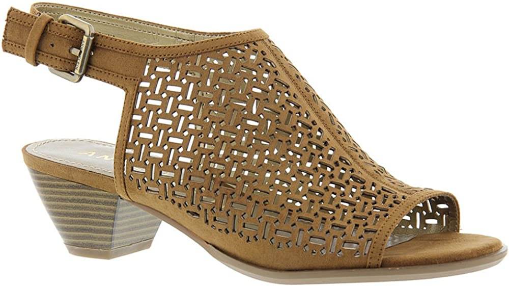 AK Anne Klein Sport Women's GLENYSP Fabric Heeled Sandal