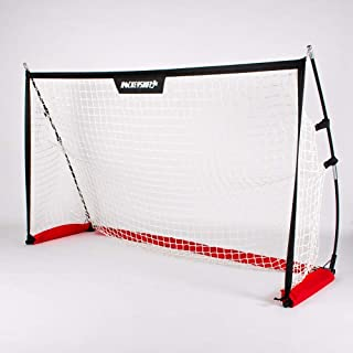 Sponsored Ad - HockeyShot HS All-Purpose Foldable Sports Goal - 4.5 x 2.5 feet (1.37 x 0.76 Meters)- Includes Carry-On Bag