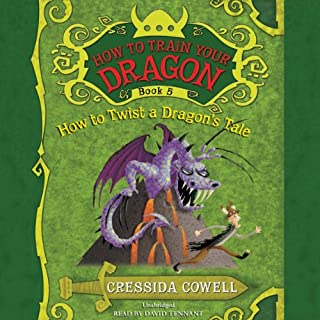 How to Train Your Dragon: How to Twist a Dragon's Tale                   By:                                                                                                                                 Cressida Cowell                               Narrated by:                                                                                                                                 David Tennant                      Length: 3 hrs and 49 mins     404 ratings     Overall 4.8
