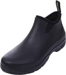 [and・more] [ アンドモア レインシューズ メンズ サイドゴア ビジネス 完全防水 長靴