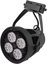 X-DREE E27 Bulb AC190-265 ν 35W Energy Saving PAR30-PHCCZ LED Light 4000K Spotlight Black (6e0f27a2-a222-11e9-8d7c-4cedfbb...