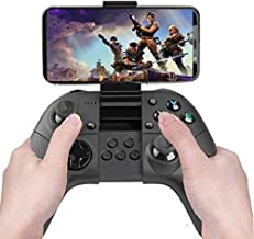 Bluetooth Mobile Phone Gamepad Controller Build in Clamp Holder Compatible with IOS iPhone iPad PS4 Remote Play,Supports Fortnite Mobile