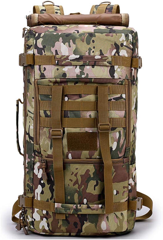 Hiking Backpack Trekking Rucksack Camping Mountaineering Bag3045L Waterproof and WearResistant Oxford Single Shoulder MultiFunction