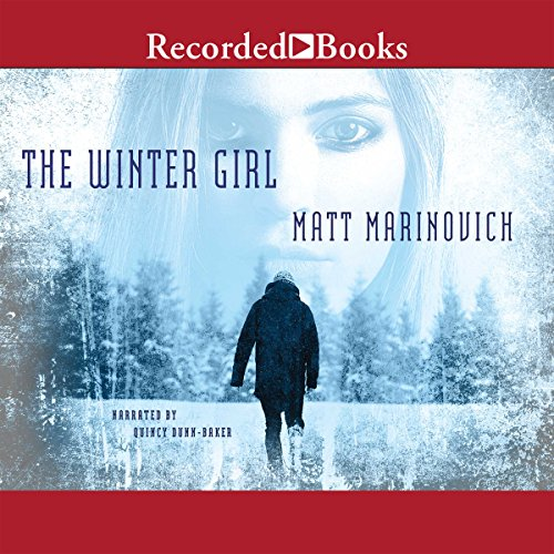 The Winter Girl audiobook cover art