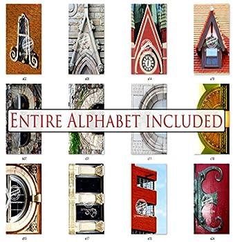 Bulk Letter Art 4x6 Alphabet Photo Set by Name Art Includes 80 Letter Pics for DIY Name Art Gifts