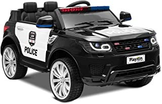 Playkin COP CAR - Coche de policia de bateria 12V niños 3-8