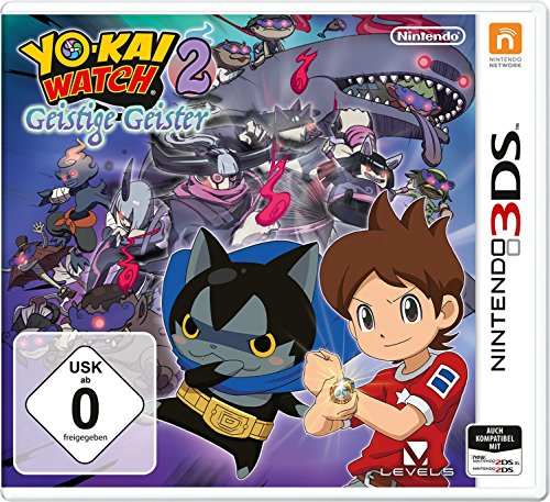 YOKAI WATCH 2: Geistige Geister - [Nintendo 3DS]