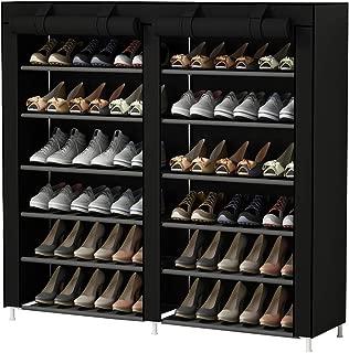 UDEAR Shoes Rack Organizador de Tela de Zapatos, Zapatero 7