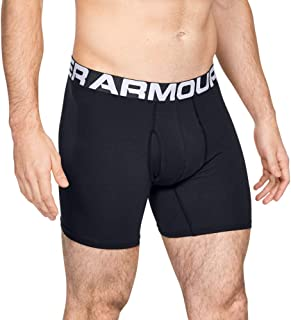 Under Armour Men's Charged Cotton 6in3 Pack Boxer (pack of 3)