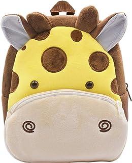 Mochila para niños ZSWQ-Mochila de Dibujos Animados para Animales Infantil Linda Mochilas para Guardería Animales 3D Suave...