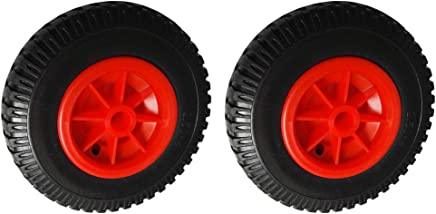 """2pcs 20.32cm//8/"""" Spare Puncture Proof Rubber Tyre on Wheel for Kayak Trolley"""