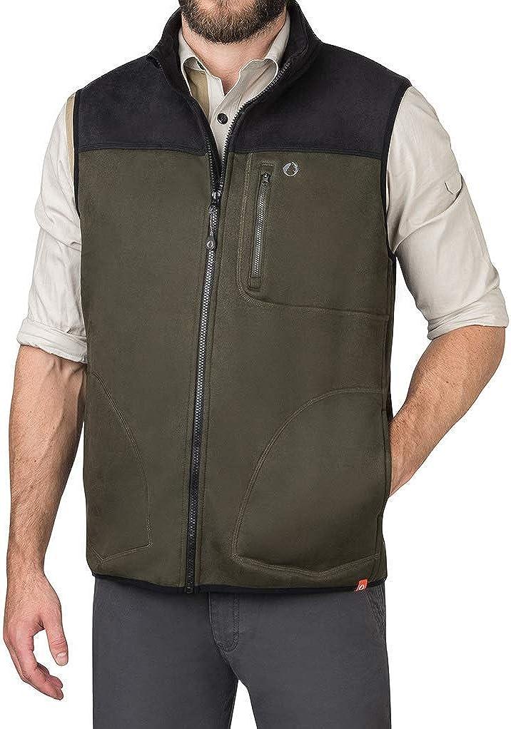 American Outdoorsman Water Repellent Bonded 即納送料無料 Zip Fleece 全品送料無料 Full Vest
