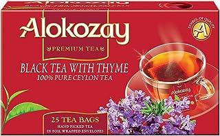Alokozay Black Tea with Thyme Bags, 25 Bags