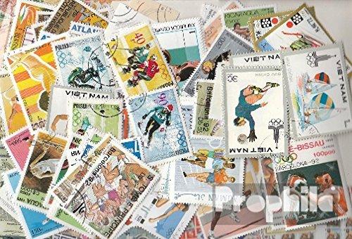 Prophila Collection Motivazioni 200 Diversi Francobolli Sport in Completa Spese (Francobolli per i Collezionisti) Altri Sport