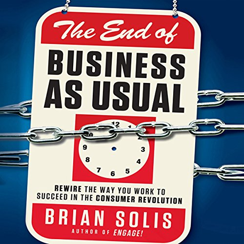 The End of Business as Usual audiobook cover art