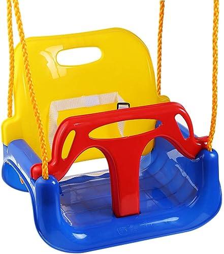 Multifunktionales Kinderspielzeug Schaukeln In Outdoor Home 3 In 1 Baby Schaukeln Familie Größe Raum H estühle Baby Schaukeln (Farbe   ColGoldt, Größe   16.53  12.99  14.96inchs)