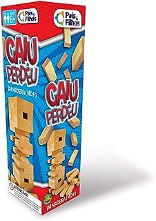 Caiu Perdeu - 54 Pçs Pais & Filhos Azul