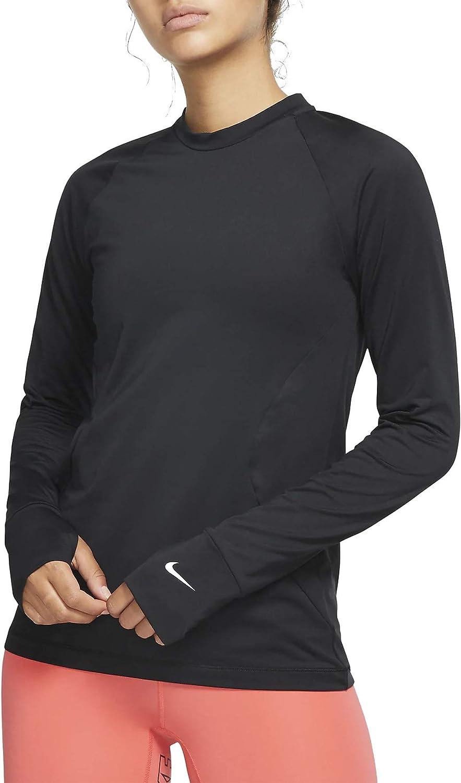 Nike online shop Max 48% OFF Women's Pro Warm Long Sleeve Top