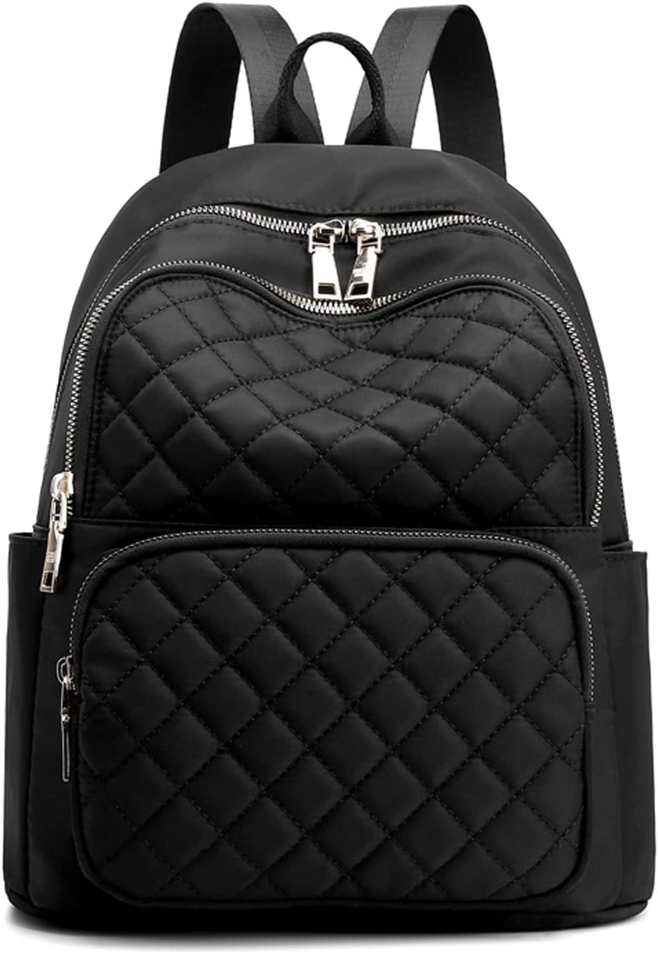 Fashion Backpacks for Women - Purse Travel Quilte Nylon 5 ☆ very popular Backpack safety
