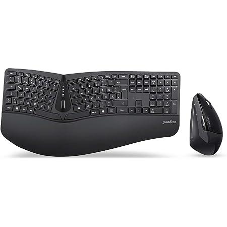 Perixx Periduo 605 Kabellose Ergonomische Tastatur Und Computer Zubehör
